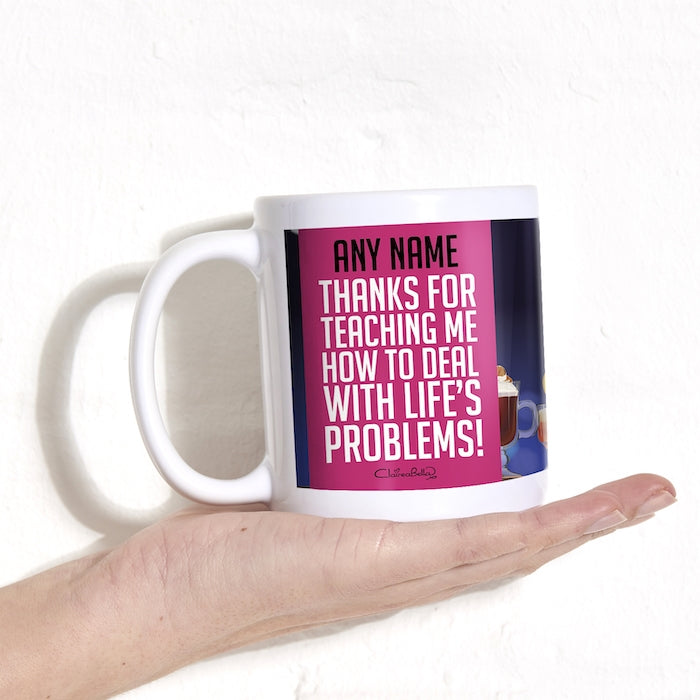 ClaireaBella All Life's Problems Mug - Image 2