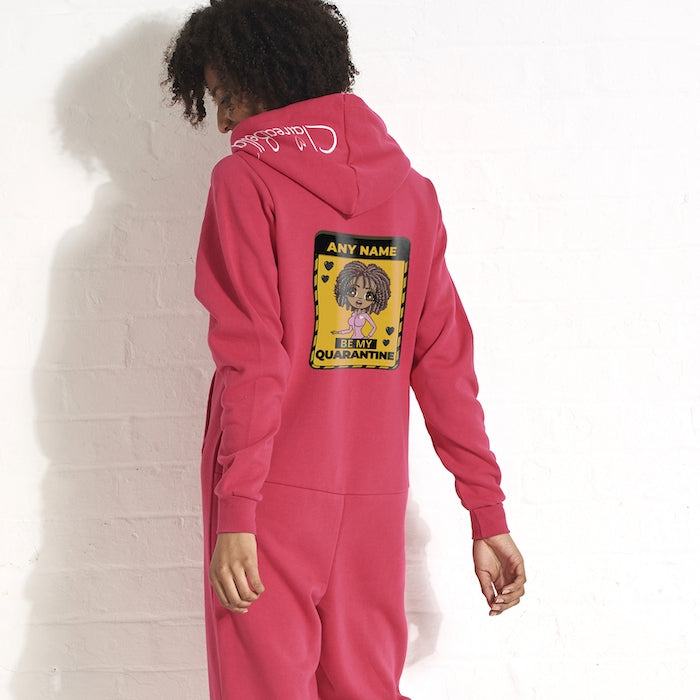 ClaireaBella Adult Be My Quarantine Couples Onesie - Image 7