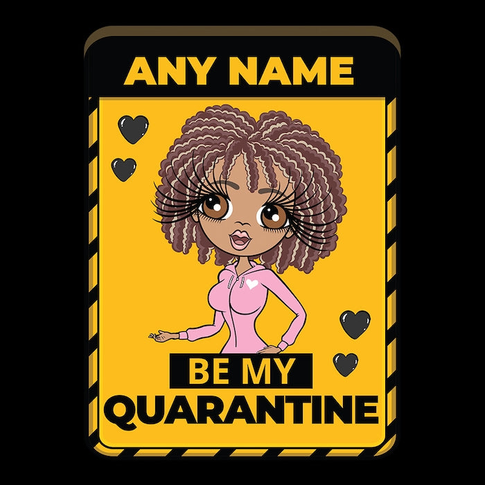 ClaireaBella Adult Be My Quarantine Couples Onesie - Image 2