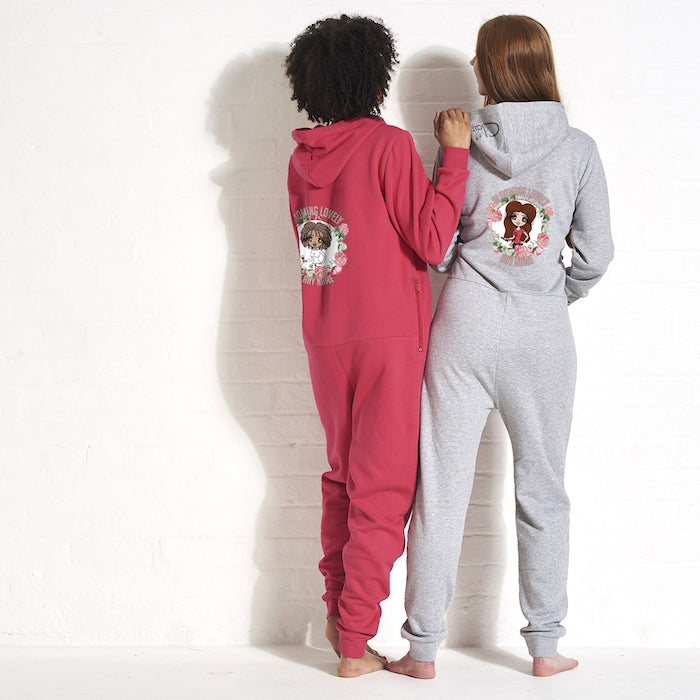 ClaireaBella Adult Blooming Lovely Onesie - Image 4