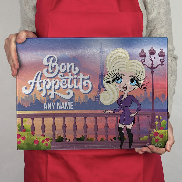 ClaireaBella Glass Chopping Board - Bon Appétit - Image 3