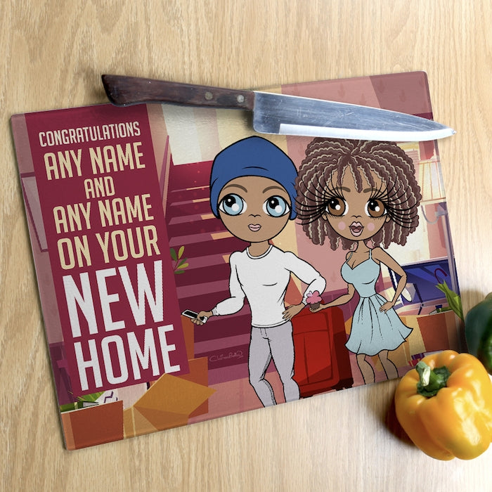 ClaireaBella Glass Chopping Board - Couples New Home - Image 1