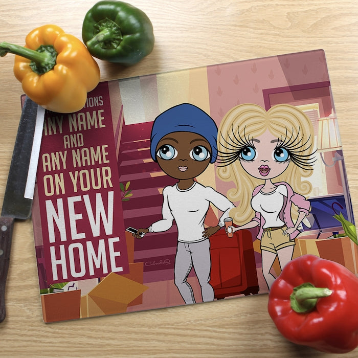 ClaireaBella Glass Chopping Board - Couples New Home - Image 2