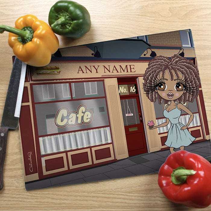 ClaireaBella Glass Chopping Board - Roy's Rolls - Image 1