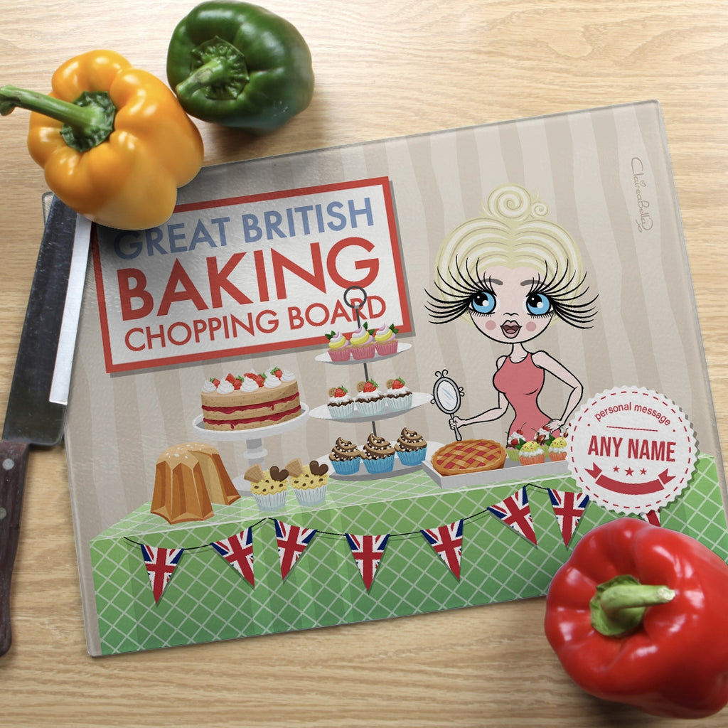 ClaireaBella Landscape Glass Chopping Board - Baking Competition - Image 1
