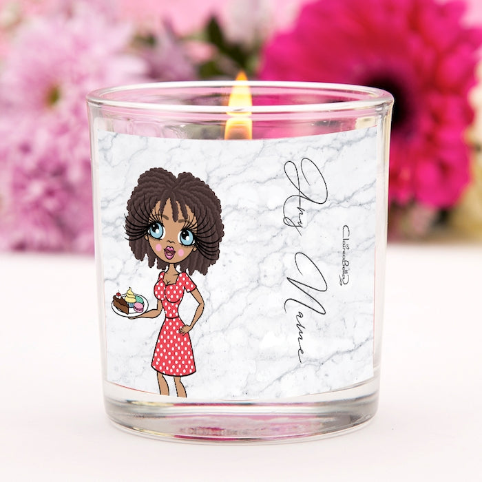 ClaireaBella Grey Marble Scented Candle - Image 1