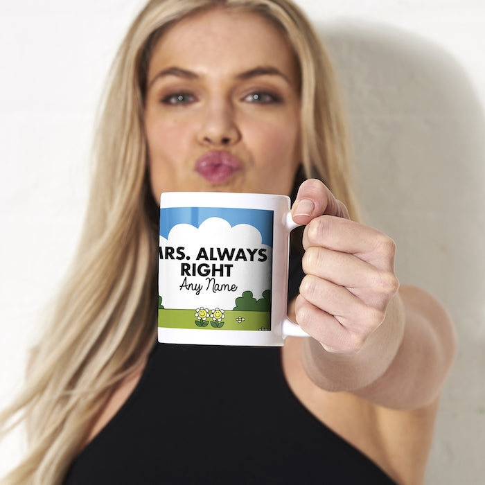 ClaireaBella Mrs Always Right Mug - Image 3
