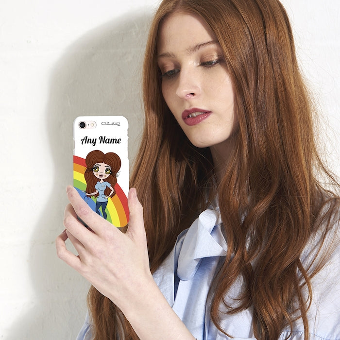 ClaireaBella Personalised Rainbow Phone Case - Image 7
