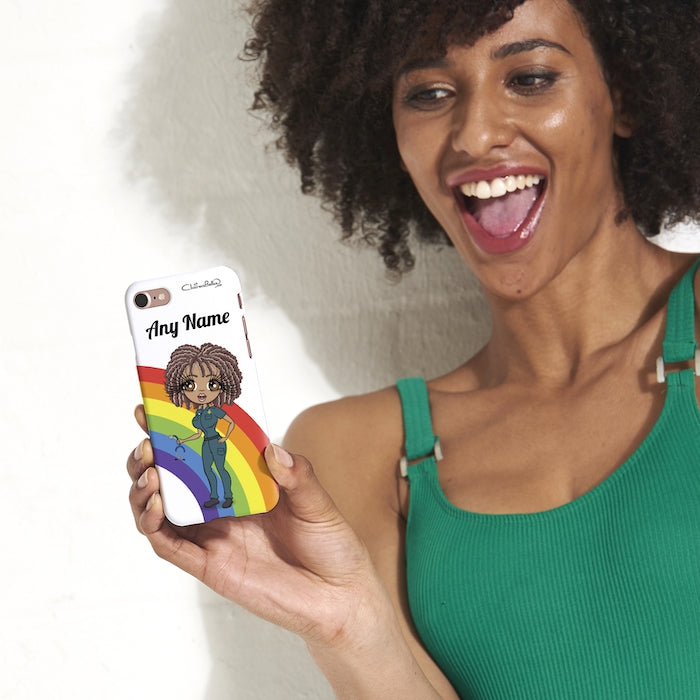 ClaireaBella Personalised Rainbow Phone Case - Image 5
