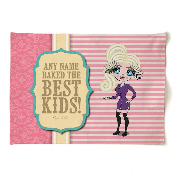 ClaireaBella Personalised Baked Kids Tea Towel - Image 3