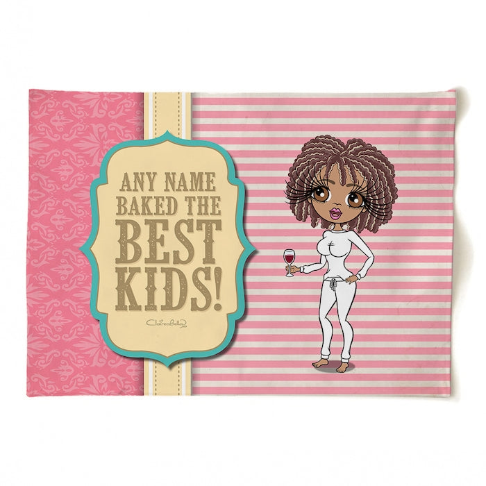 ClaireaBella Personalised Baked Kids Tea Towel - Image 1