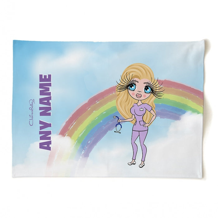 ClaireaBella Personalised Rainbow Tea Towel - Image 2