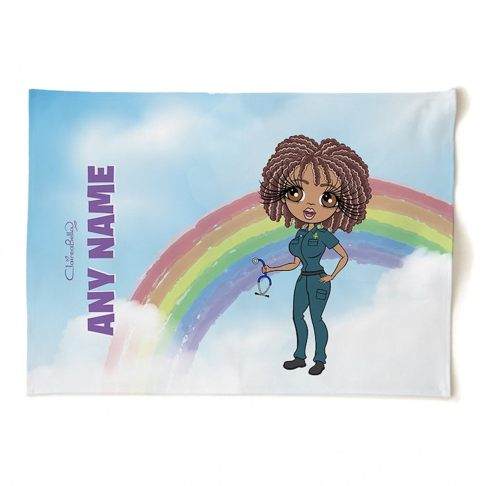 ClaireaBella Personalised Rainbow Tea Towel - Image 1