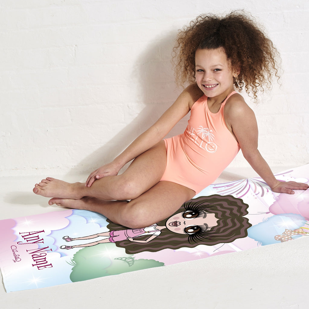 ClaireaBella Girls Magical Balloon Beach Towel - Image 2