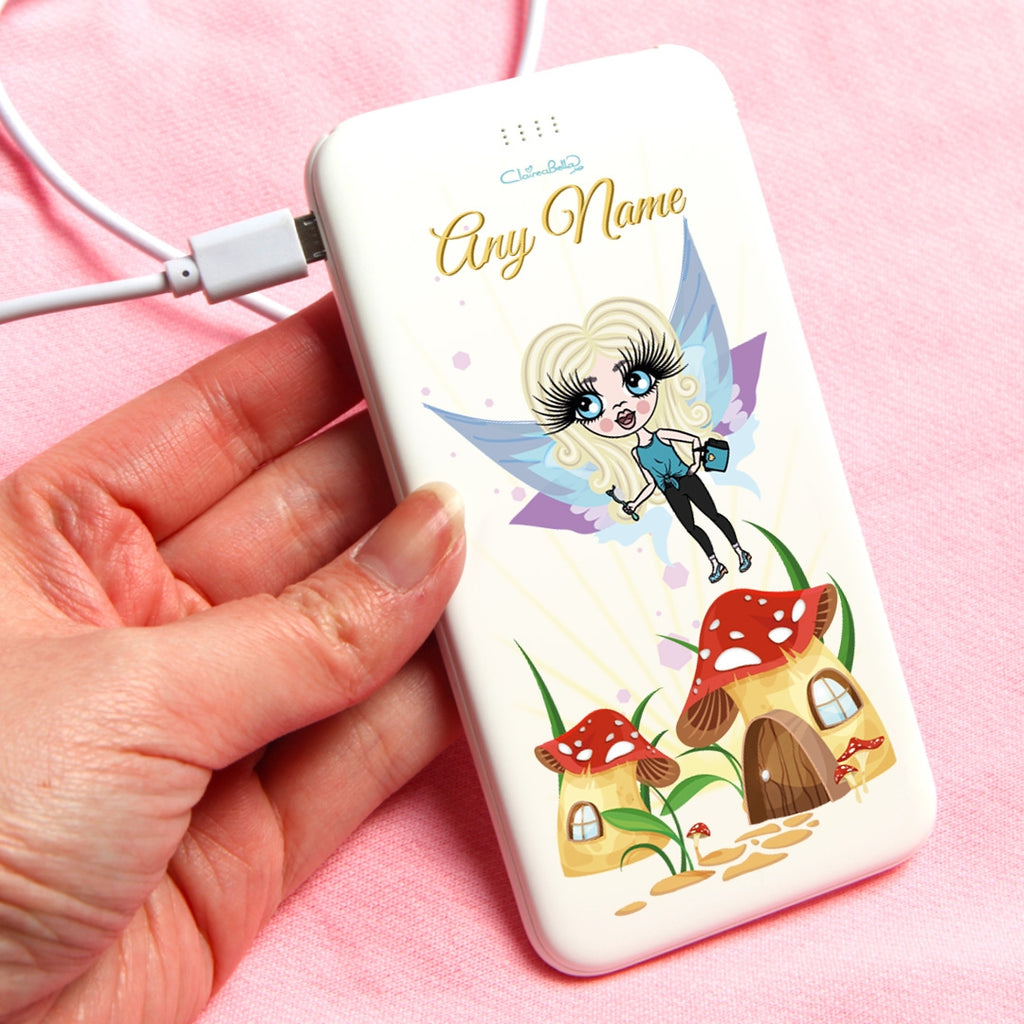 ClaireaBella Girls Fairy Portable Power Bank - Image 1
