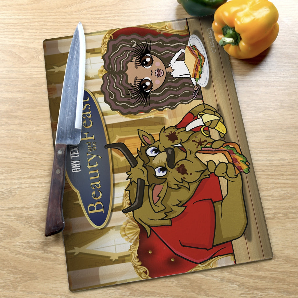 ClaireaBella Girls Landscape Glass Chopping Board - Feast - Image 6