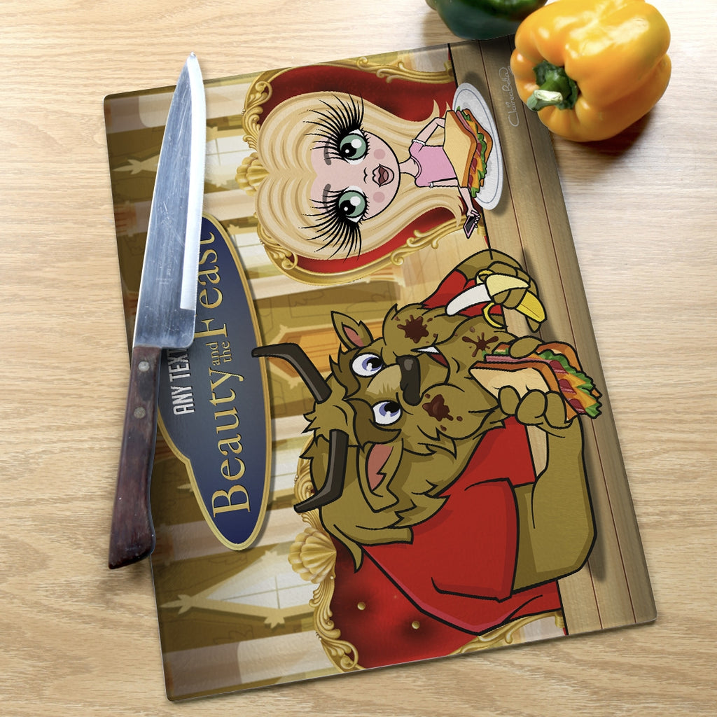 ClaireaBella Girls Landscape Glass Chopping Board - Feast - Image 5