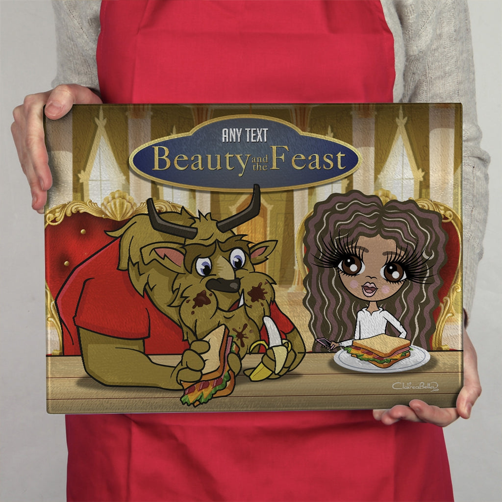 ClaireaBella Girls Landscape Glass Chopping Board - Feast - Image 4