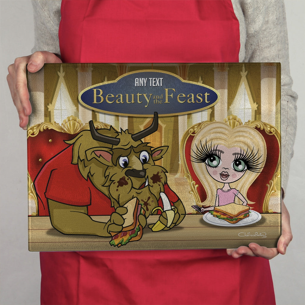 ClaireaBella Girls Landscape Glass Chopping Board - Feast - Image 3