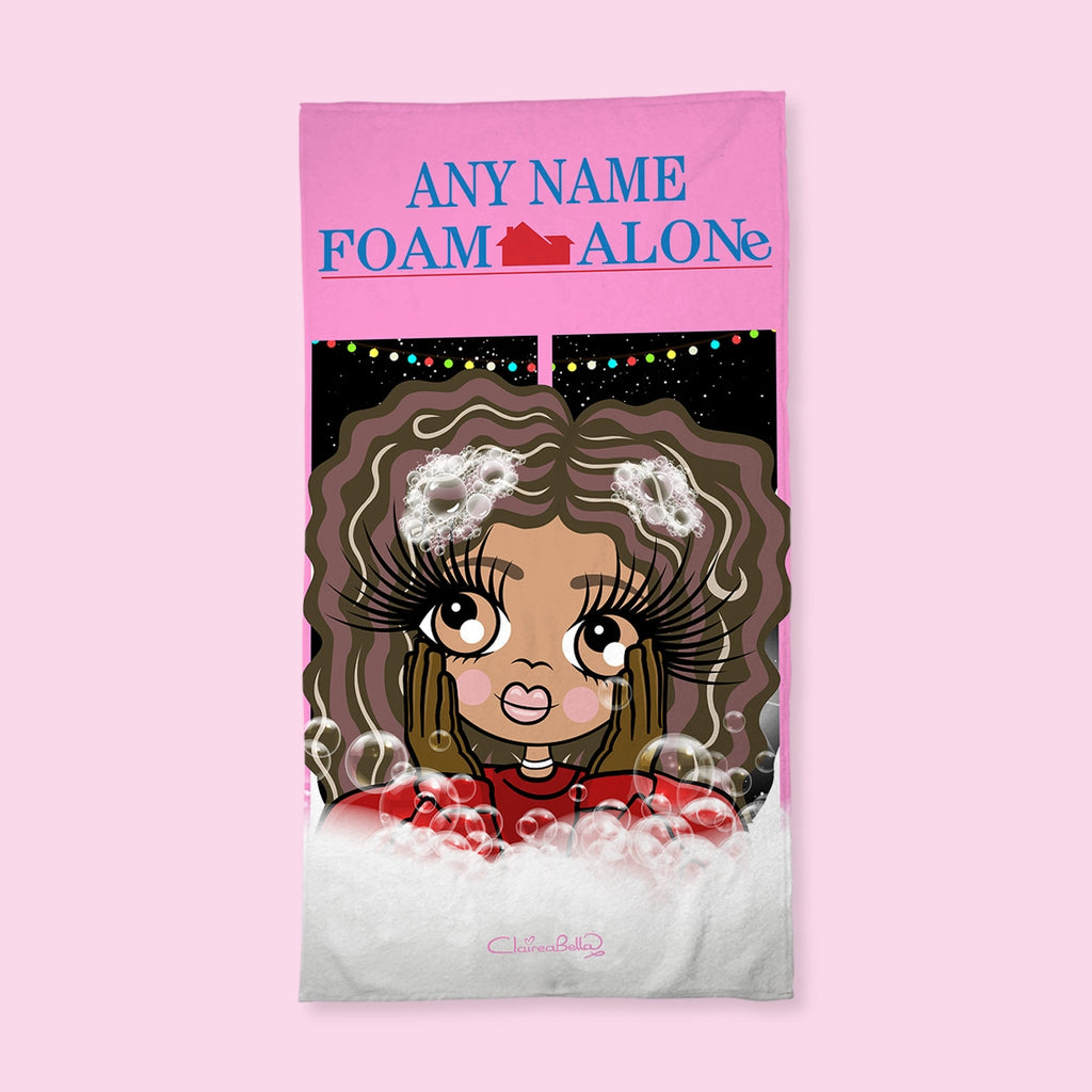 ClaireaBella Girls Foam Alone Hand Towel - Image 1