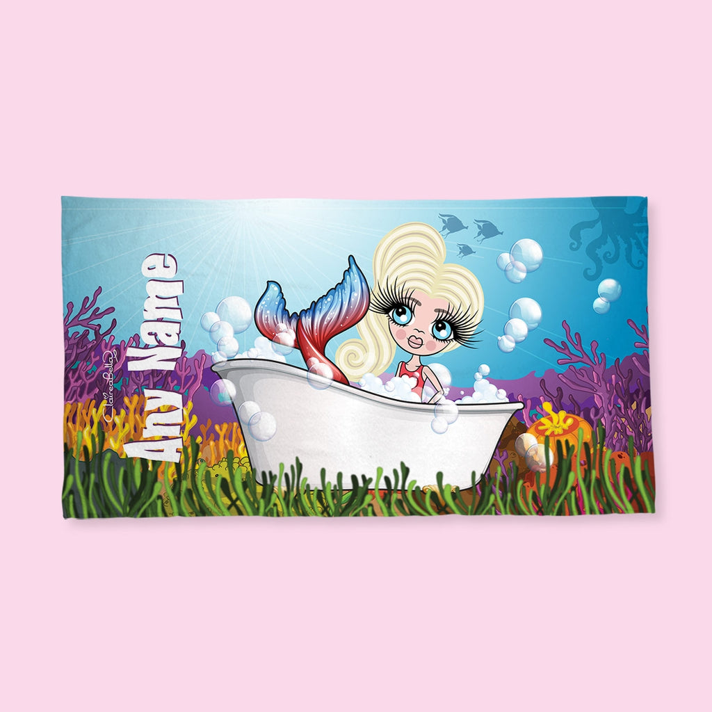 ClaireaBella Girls Mermaid Hand Towel - Image 1