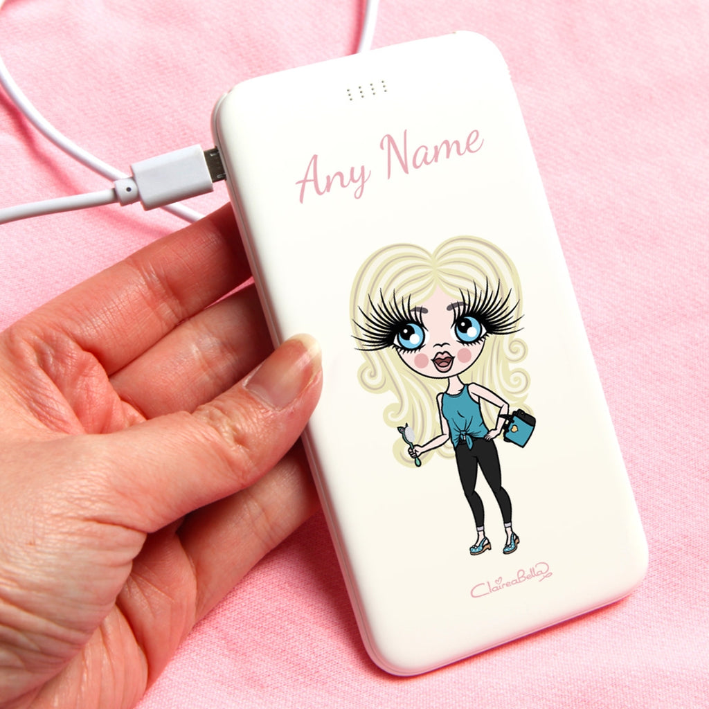 ClaireaBella Girls Classic Portable Power Bank - Image 1