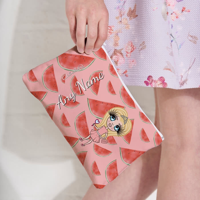 ClaireaBella Girls Watermelon Make Up Bag - Image 6