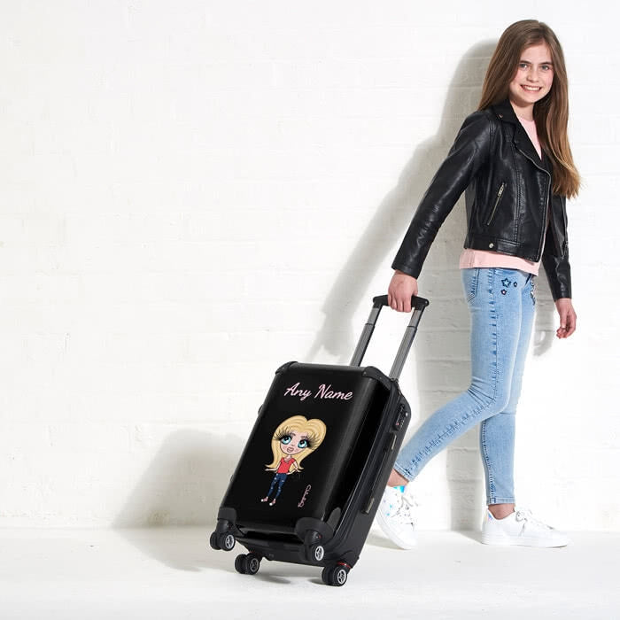 ClaireaBella Girls Black Suitcase - Image 6
