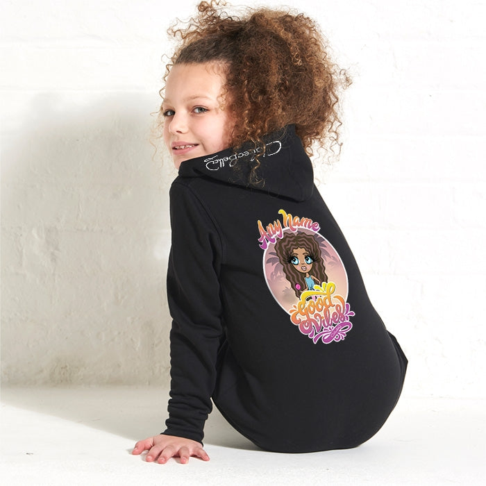 ClaireaBella Girls Good Vibes Onesie - Image 2