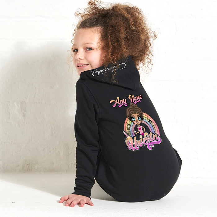 ClaireaBella Girls Unicorn Wish Onesie - Image 2
