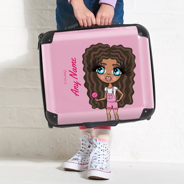 ClaireaBella Girls Close Up Weekend Suitcase - Image 2