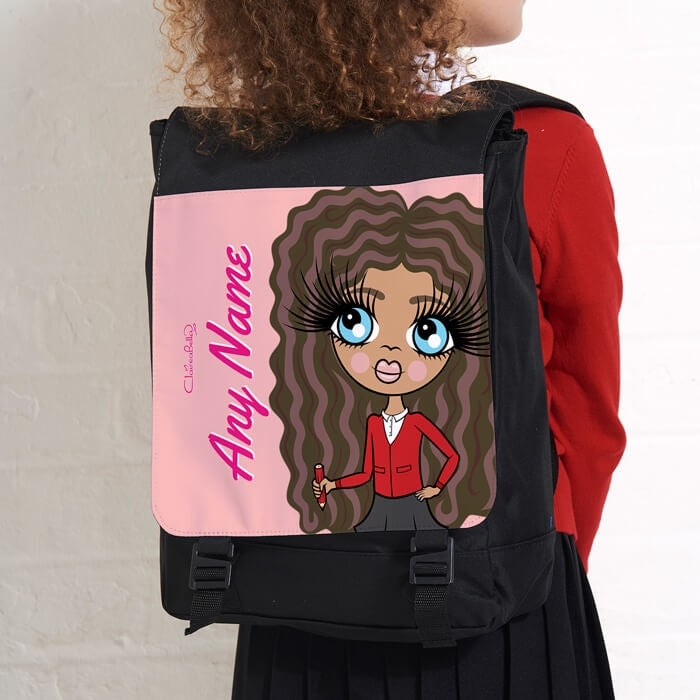 ClaireaBella Girls Close Up Large Backpack - Image 3