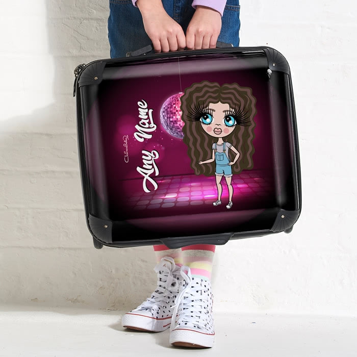 ClaireaBella Girls Disco Diva Weekend Suitcase - Image 1