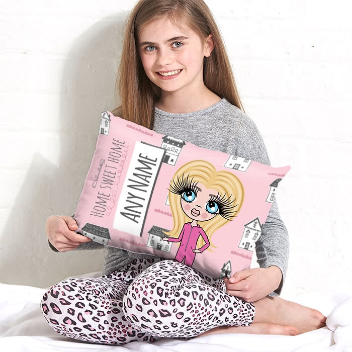 ClaireaBella Girls Placement Cushion - Home Sweet Home - Image 2