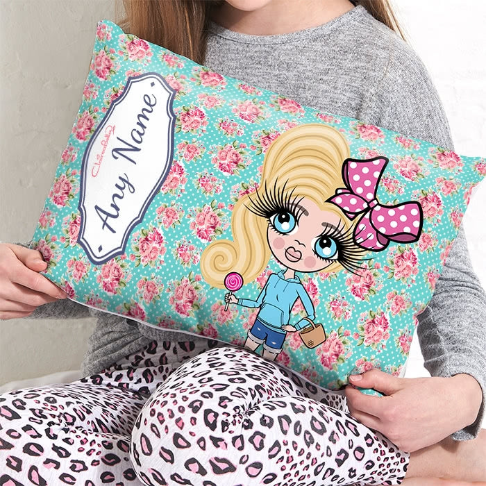 ClaireaBella Girls Placement Cushion - Rose - Image 3