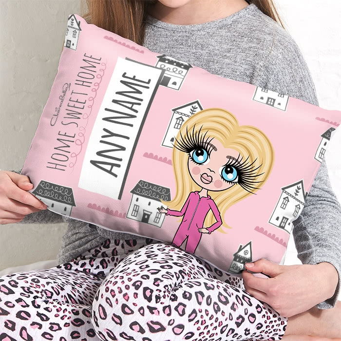 ClaireaBella Girls Placement Cushion - Home Sweet Home - Image 1