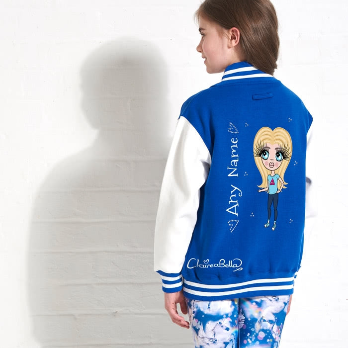 ClaireaBella Girls Baseball Jacket - Image 1