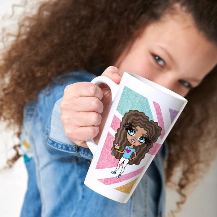 ClaireaBella Girls Union Jack Latte Mug - Image 4