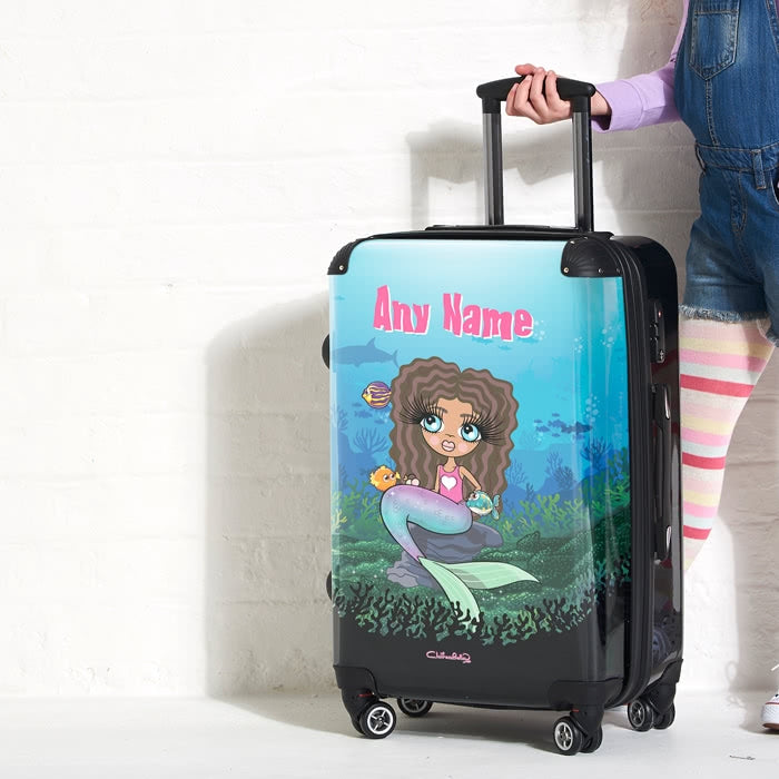 ClaireaBella Girls Mermaid Suitcase - Image 4