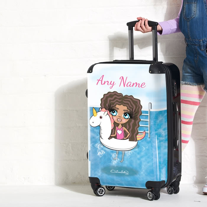 ClaireaBella Girls Unicorn Float Suitcase - Image 7