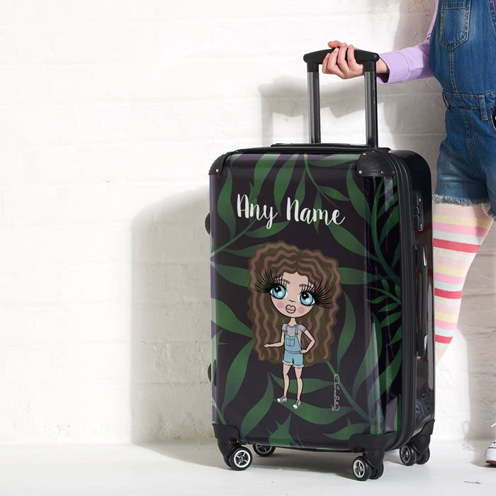 ClaireaBella Girls Tropical Suitcase - Image 2