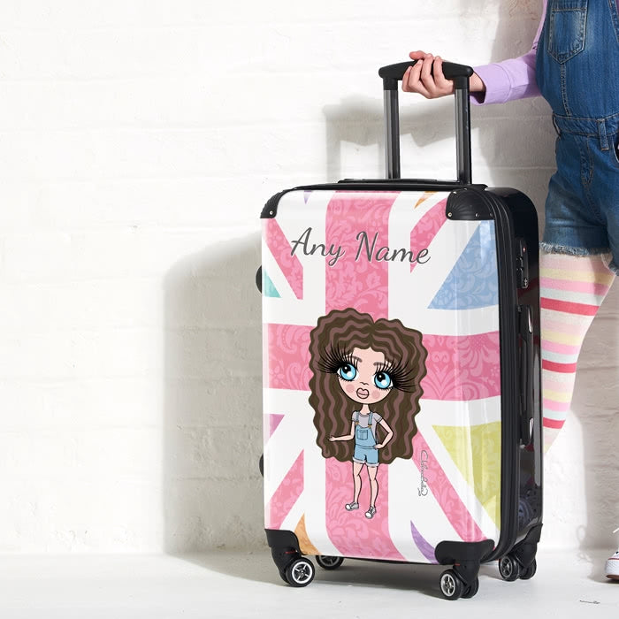 ClaireaBella Girls Union Jack Suitcase - Image 4