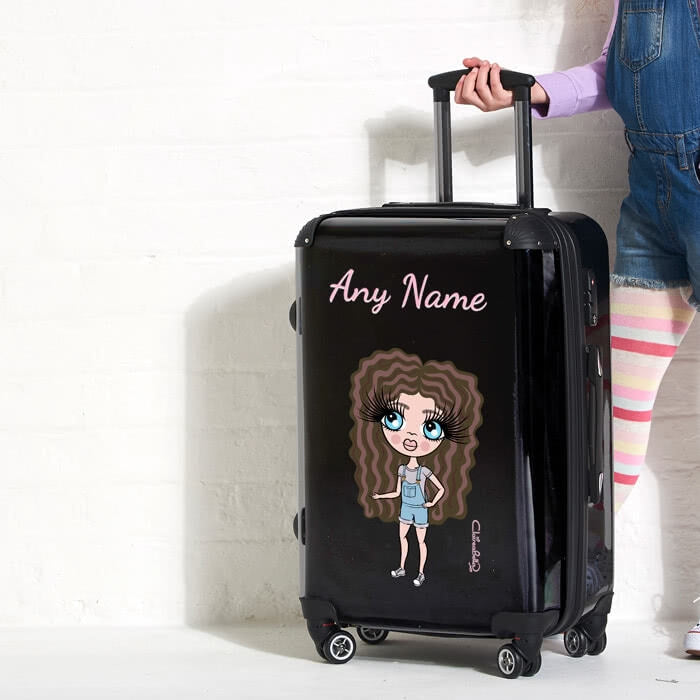 ClaireaBella Girls Black Suitcase - Image 5