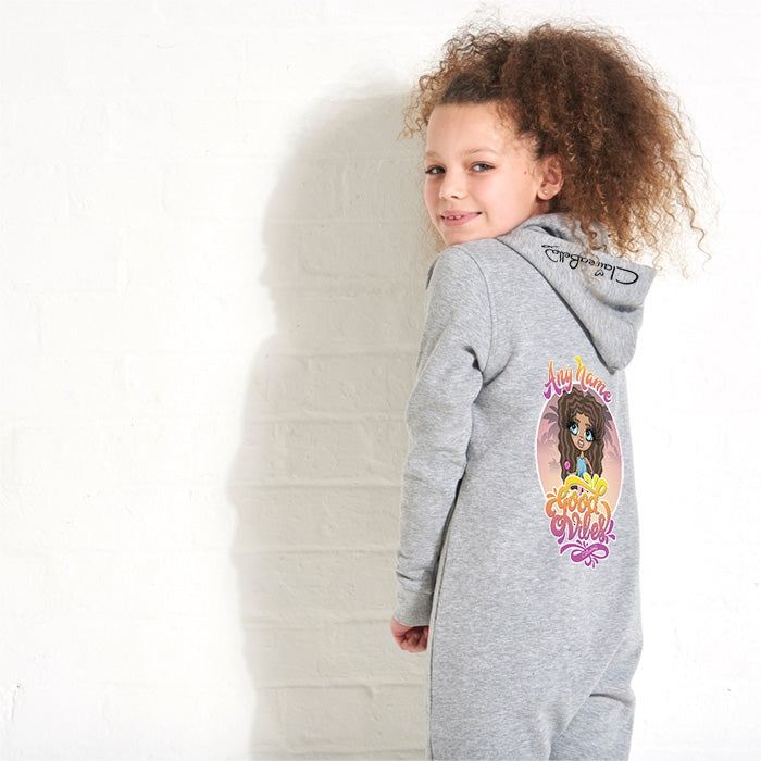 ClaireaBella Girls Good Vibes Onesie - Image 3