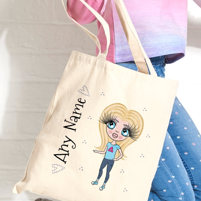 ClaireaBella Girls Canvas Bag - Image 2