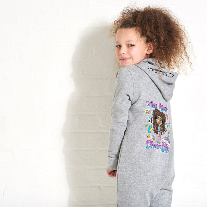 ClaireaBella Girls Dream Big Onesie - Image 2