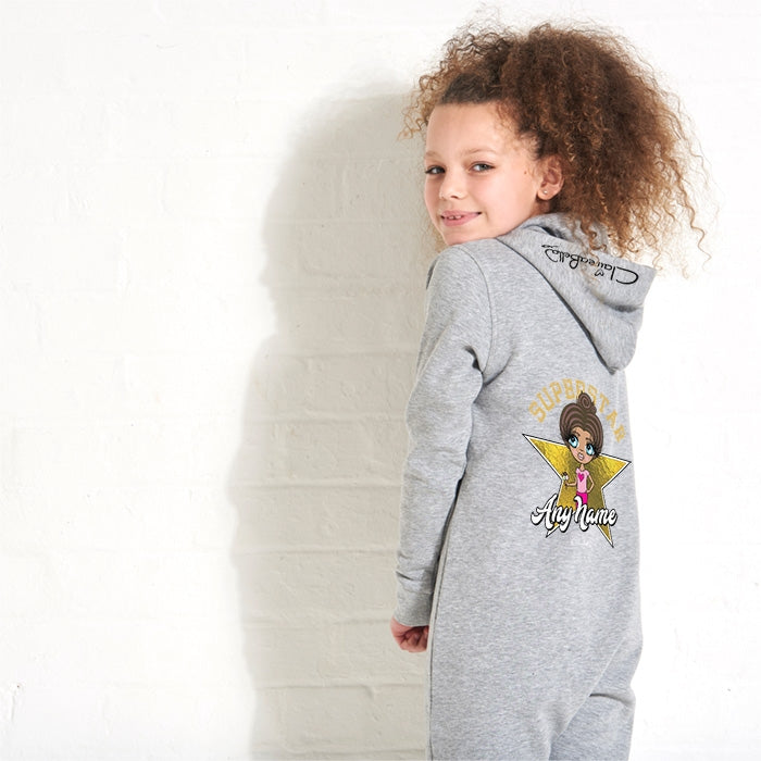 ClaireaBella Girls Superstar Onesie - Image 2