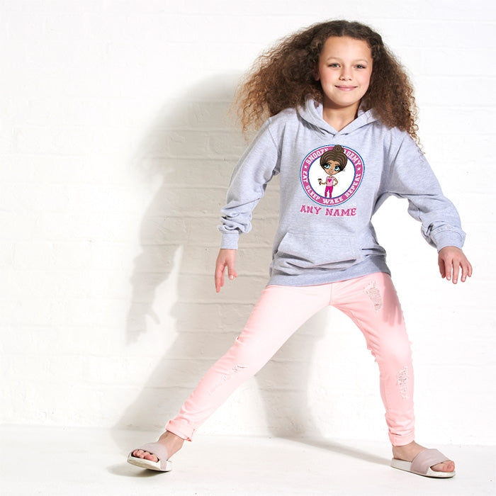 ClaireaBella Girls Snooze Academy Hoodie - Image 4