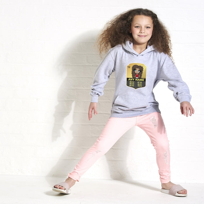 ClaireaBella Girls Football Hoodie - Image 3