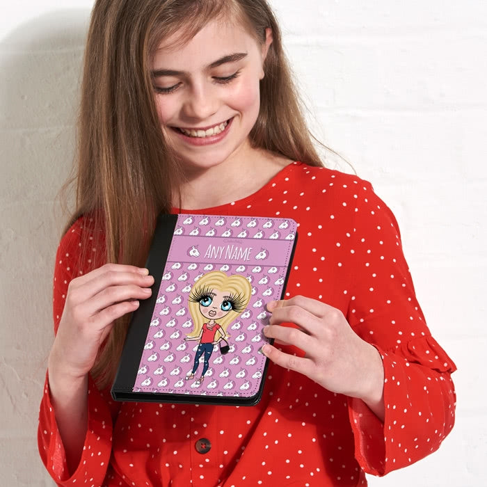 ClaireaBella Girls Unicorn Emoji iPad Case - Image 3